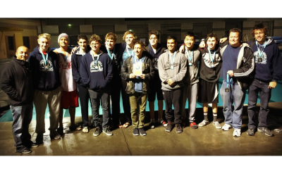 Raptor Water Polo Takes Silver Medal at 2015 Commerce Holiday Invitational